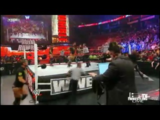 WWE Royal Rumble 2011 �� ������� �����  [PT2]
